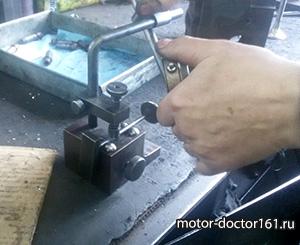 Проверка клапана на биение
